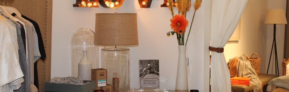 Magnificent Home Decor Pieces & Textures Make Jessie Black Boutique Shine