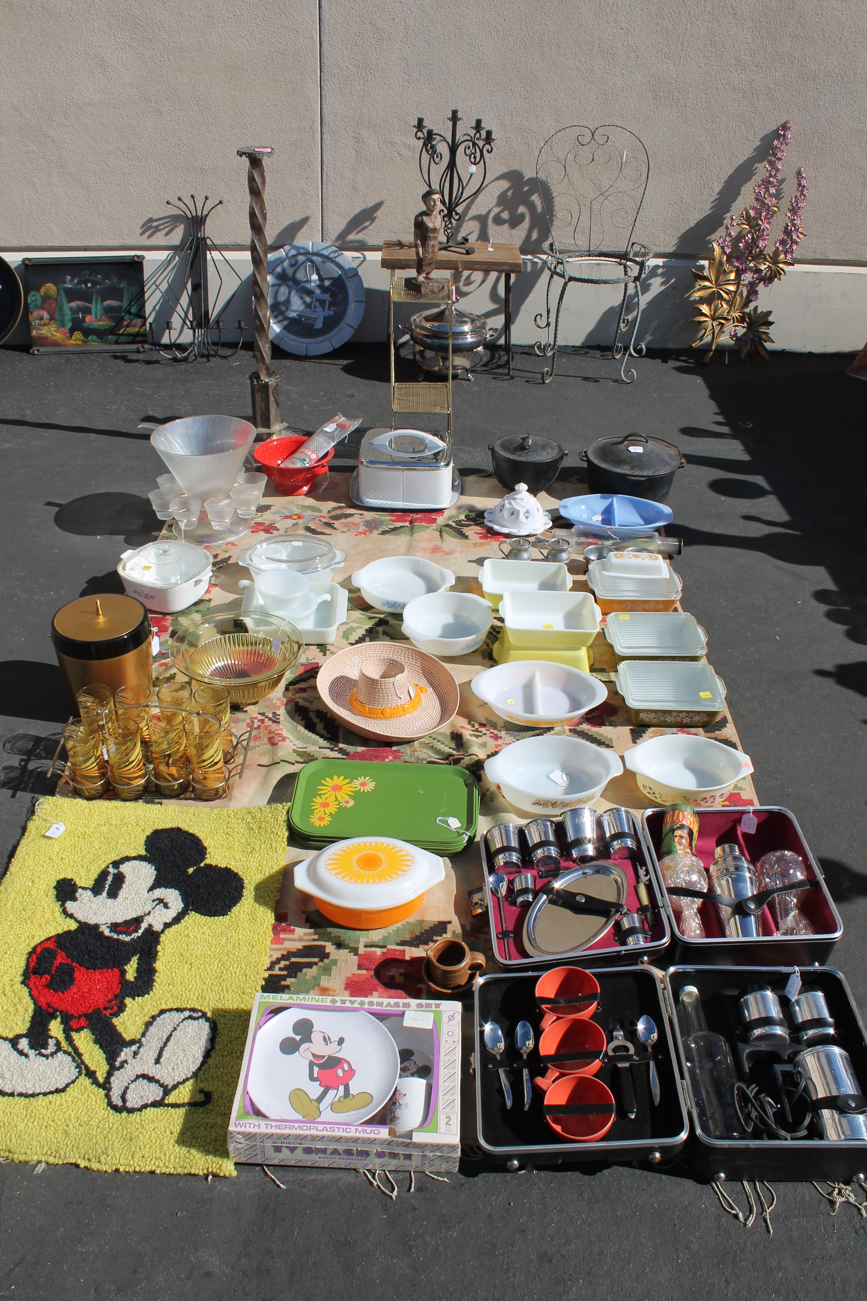 The Many Treasures And Bargains Of The Rose Bowl Flea
